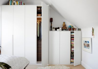Ealing – Loft wardrobe with maximum storage