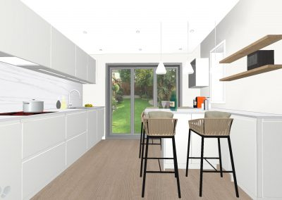 Chiswick – Victorian house remodeling, completion in February, 2020