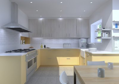 Chiswick – Victorian House kitchen remodeling, Completion in Spring 2020
