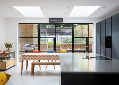 Greenwich – Victorian house kitchen extension