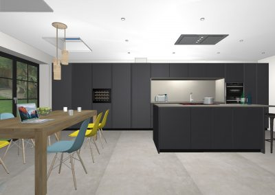 Greenwich – Victorian house kitchen extension, completion in Spring, 2020