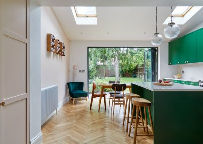 Harrow –  Victorian house remodeling